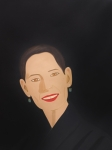 Alex Katz - 'La sonrisa de Ursula' http://www.guggenheim-bilbao.es/obras/sonrisas/